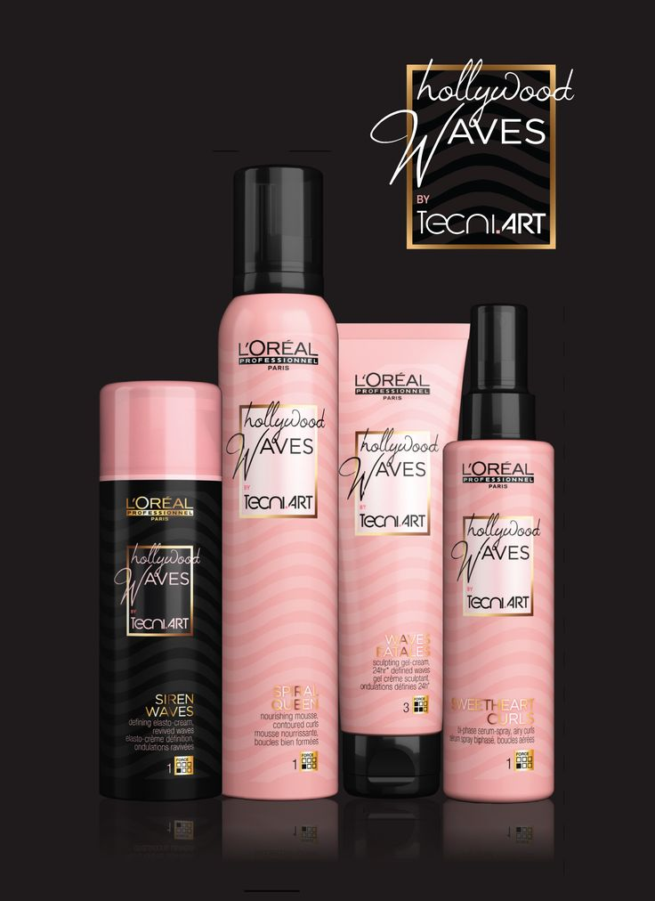 HOLLYWOOD WAVES BY TECNIART  La nuova styling per capelli ricci 7c6152587d22
